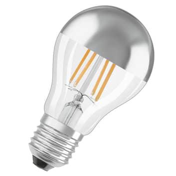 OSRAM żarówka LED E27 Mirror silver 4W ciepła biel