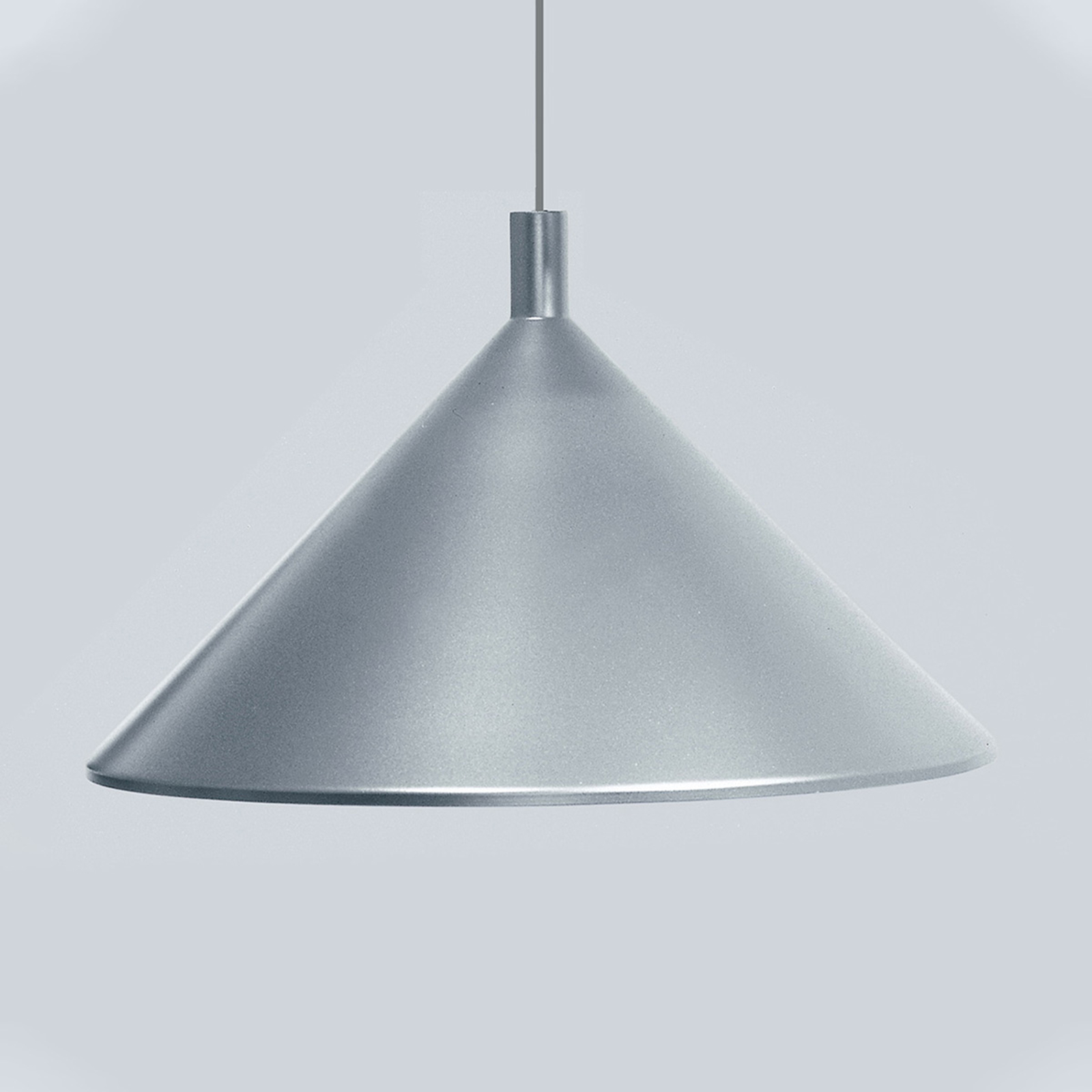 Martinelli Luce Cono hanglamp grijs, Ø 30 cm