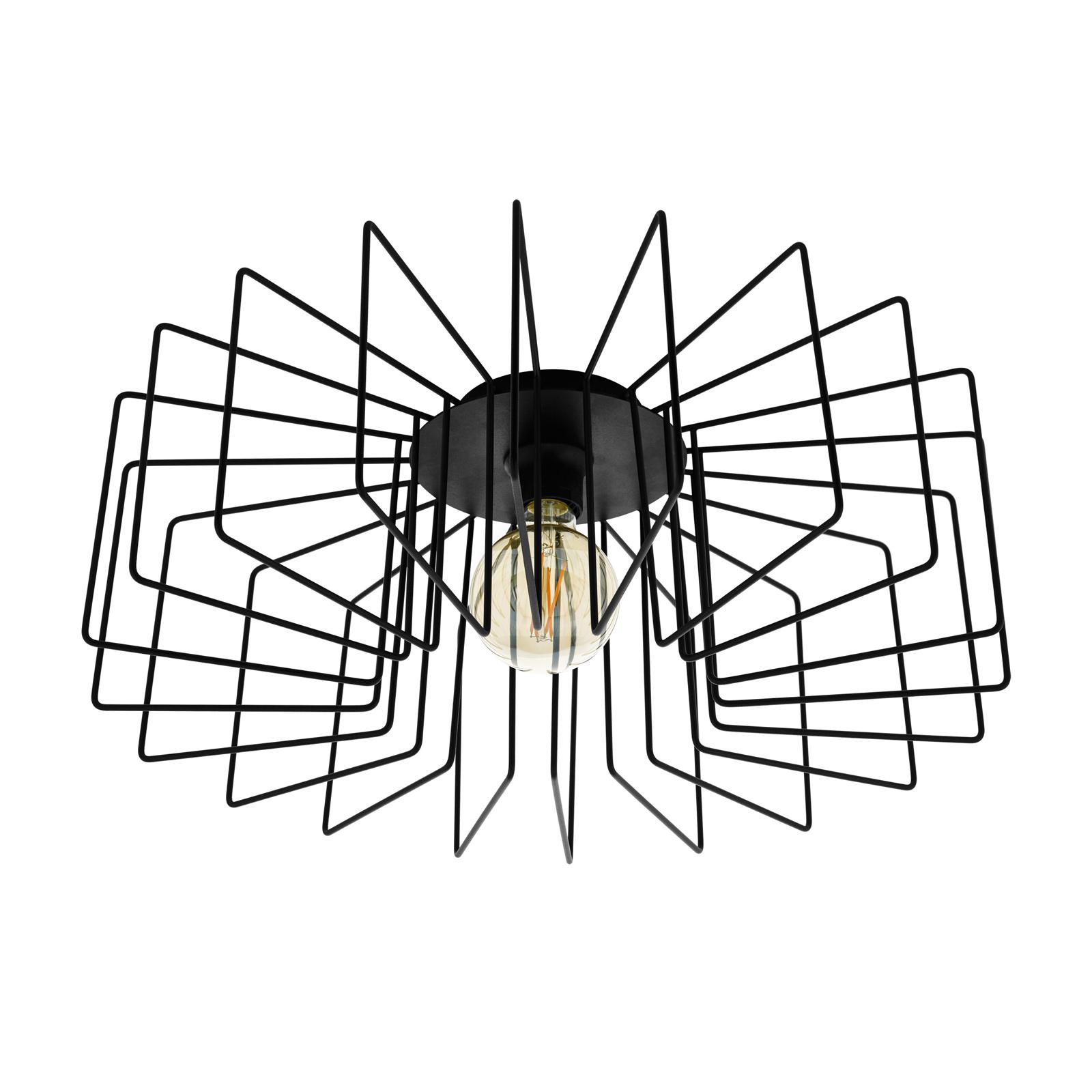 Lampa sufitowa Tremedal w formie klatki