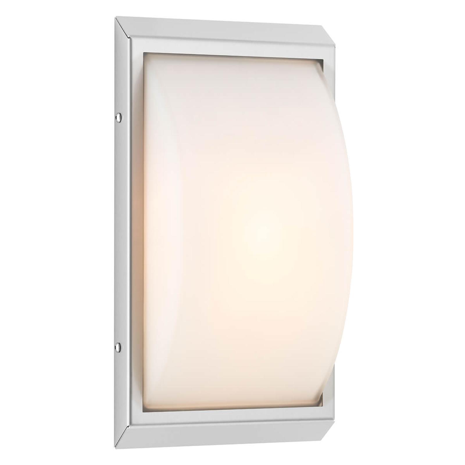 Hochwertige LED-Außenwandleuchte Malte m. Sensor
