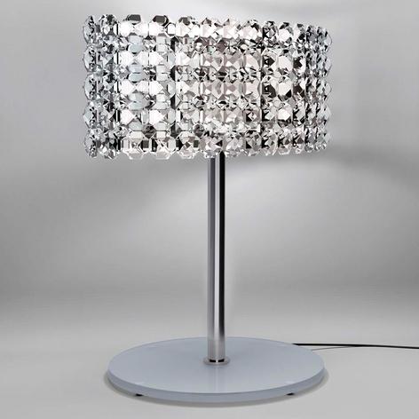 BACCCARAT fornem krystal-bordlampe, transparent