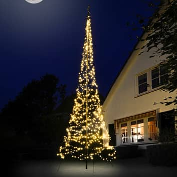 Fairybell® juletre, 6 cm, 900 LED-lys