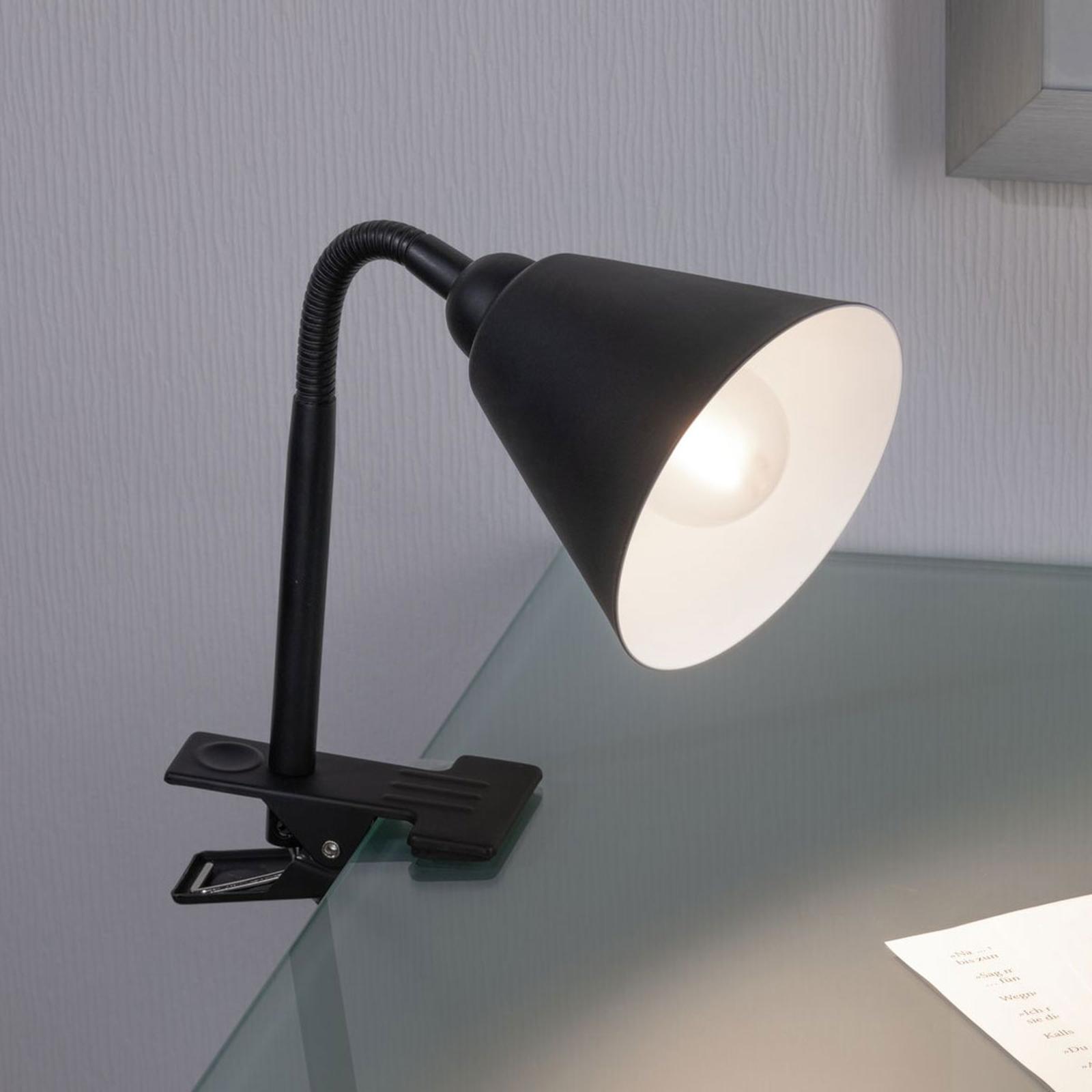 Paulmann Vitis klemlamp, zwart