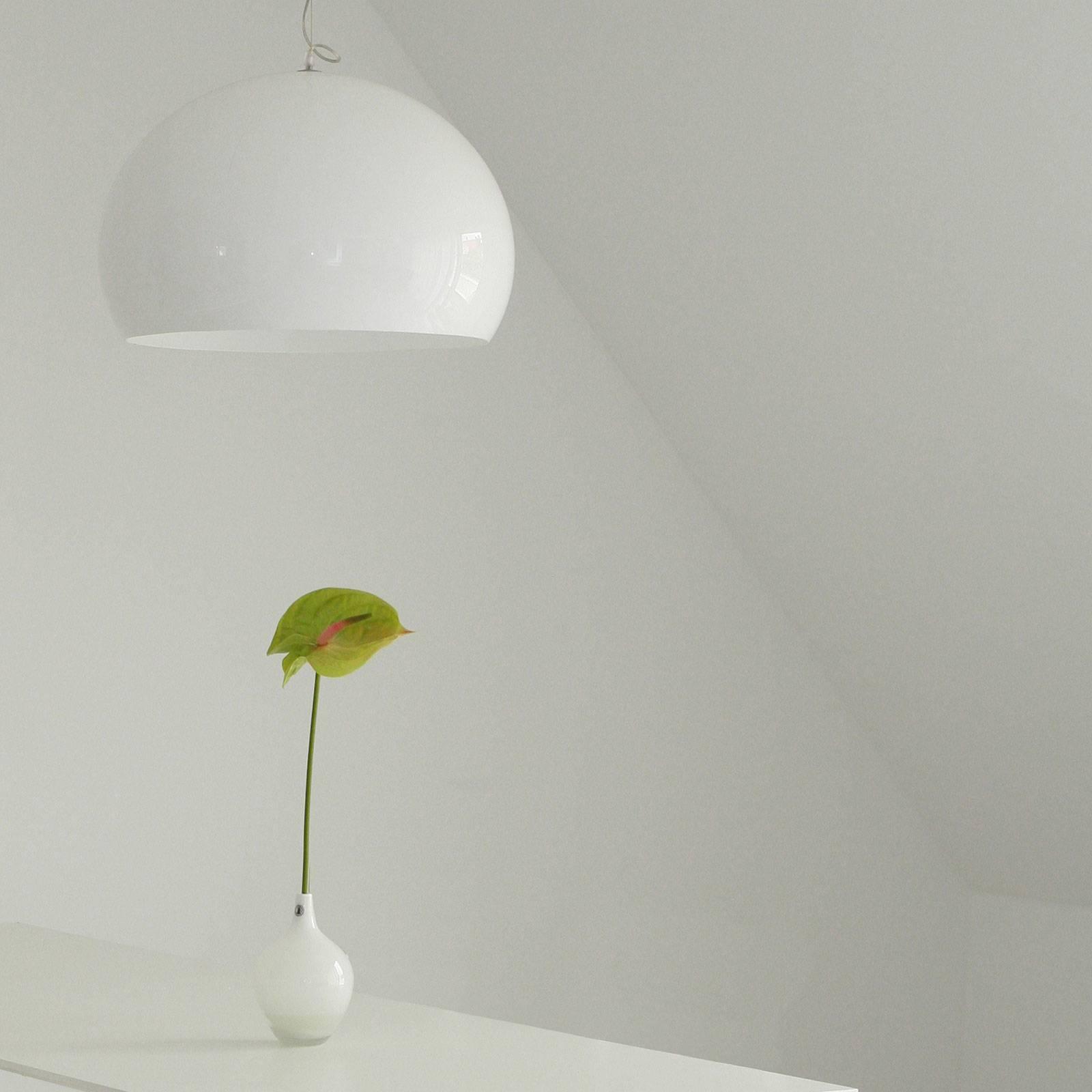 Billede af Kartell FL/Y - LED-pendellampe, blank hvid
