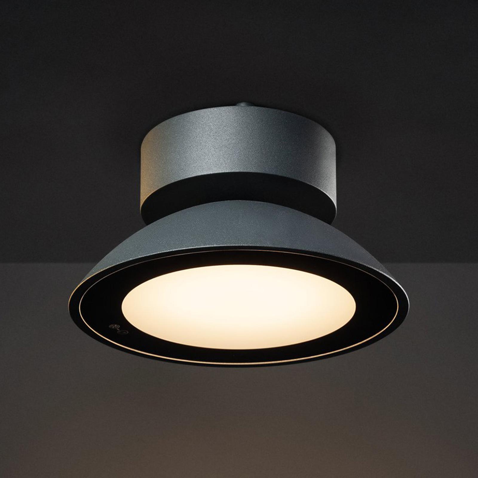 SLV Malu lampa sufitowa zewnętrzna LED antracyt