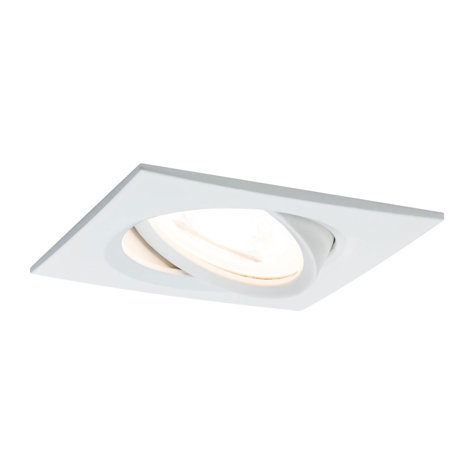 Paulmann LED-Spot Nova Coin eckig, dimmbar, weiß