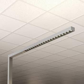 Lampadaire bureau LED Laris, argenté, 3000-6000K