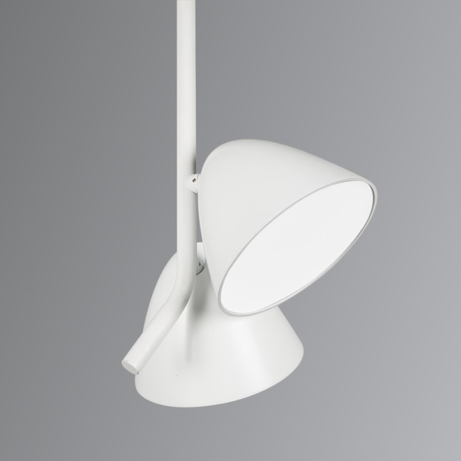 Witte LED hanglamp Flash 2-lamps