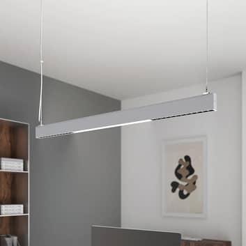 Arcchio Ingura LED-hengelampe for kontor, sølv