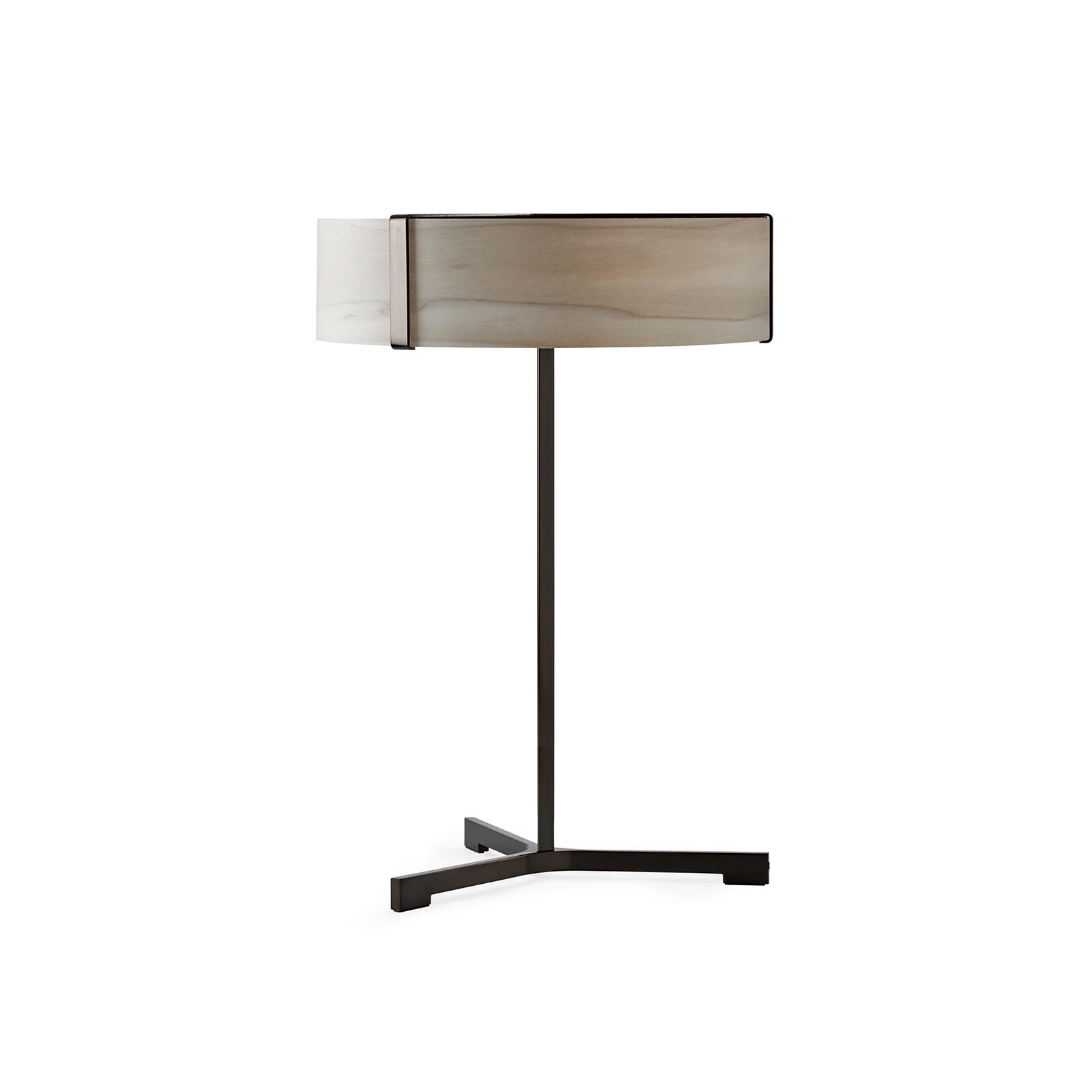 LZF Thesis lampe à poser LED noir mat/grise