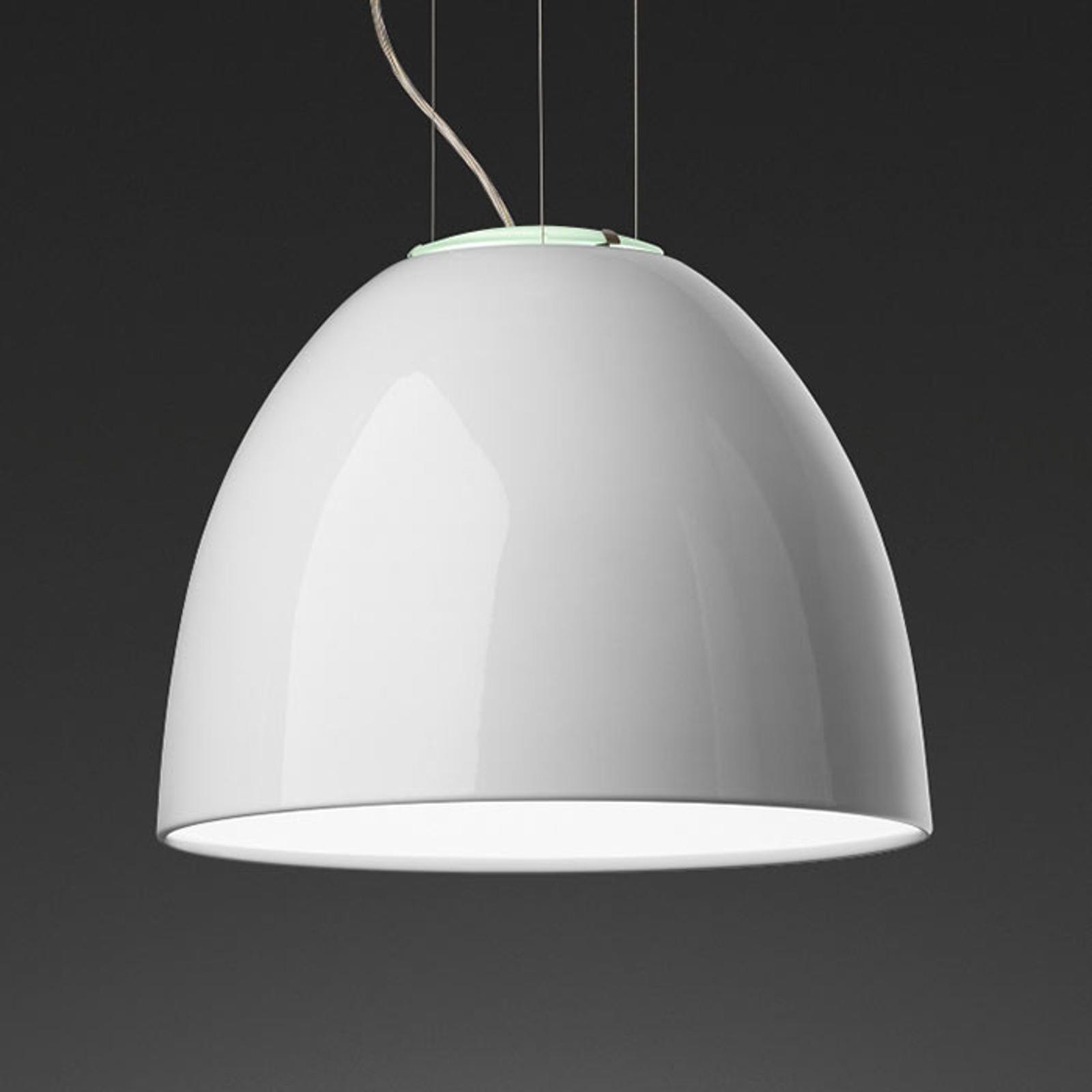 Artemide Nur Mini Gloss suspension blanche