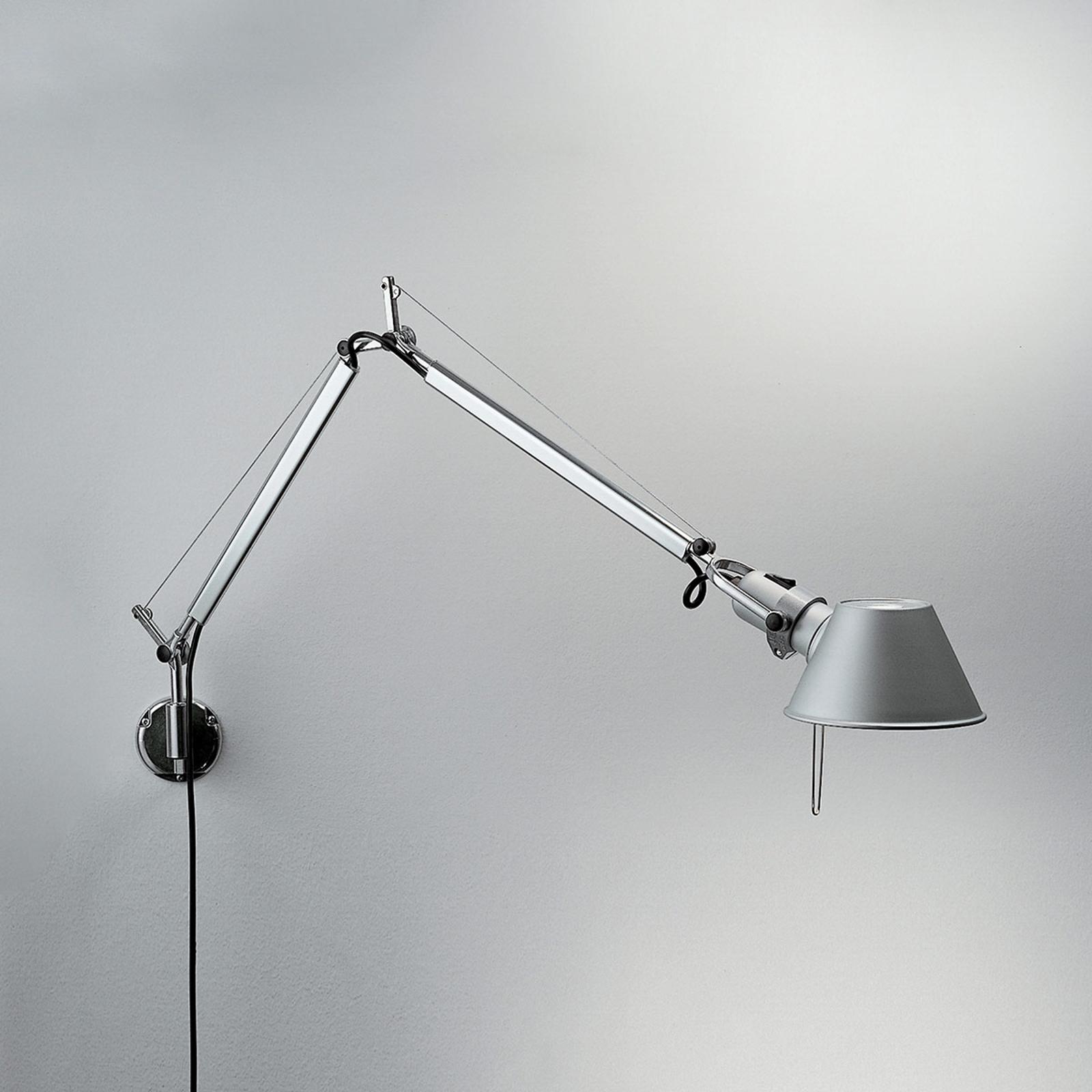 Artemide Tolomeo Mini Vegglampe Aluminium