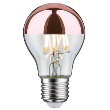 Paulmann toppspeilet LED-pære E27 6,5W 827 kobber