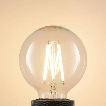 LED E27 8W G80 2.700K filamenti dimming