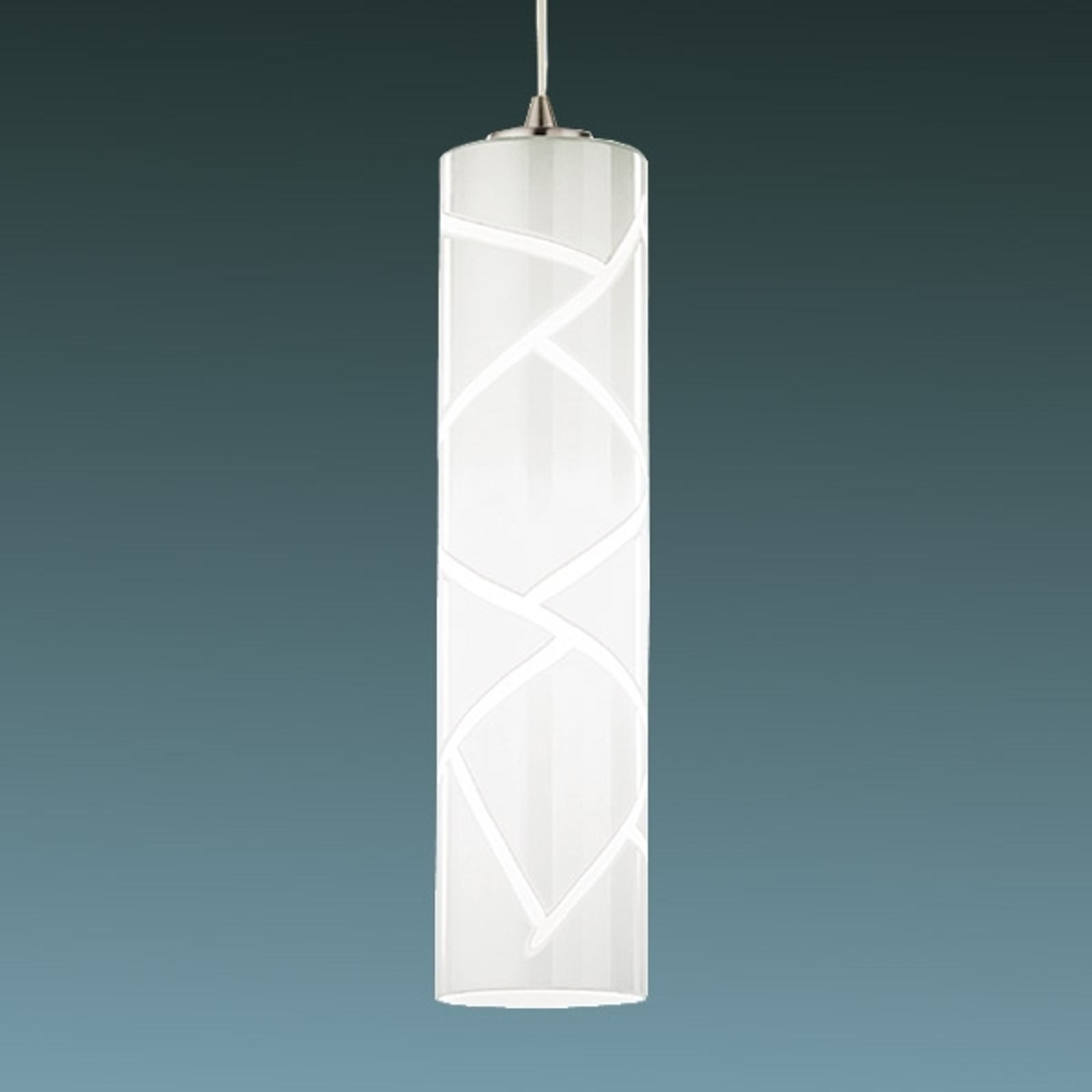 Boheme - artistieke hanglamp, 1-lichts