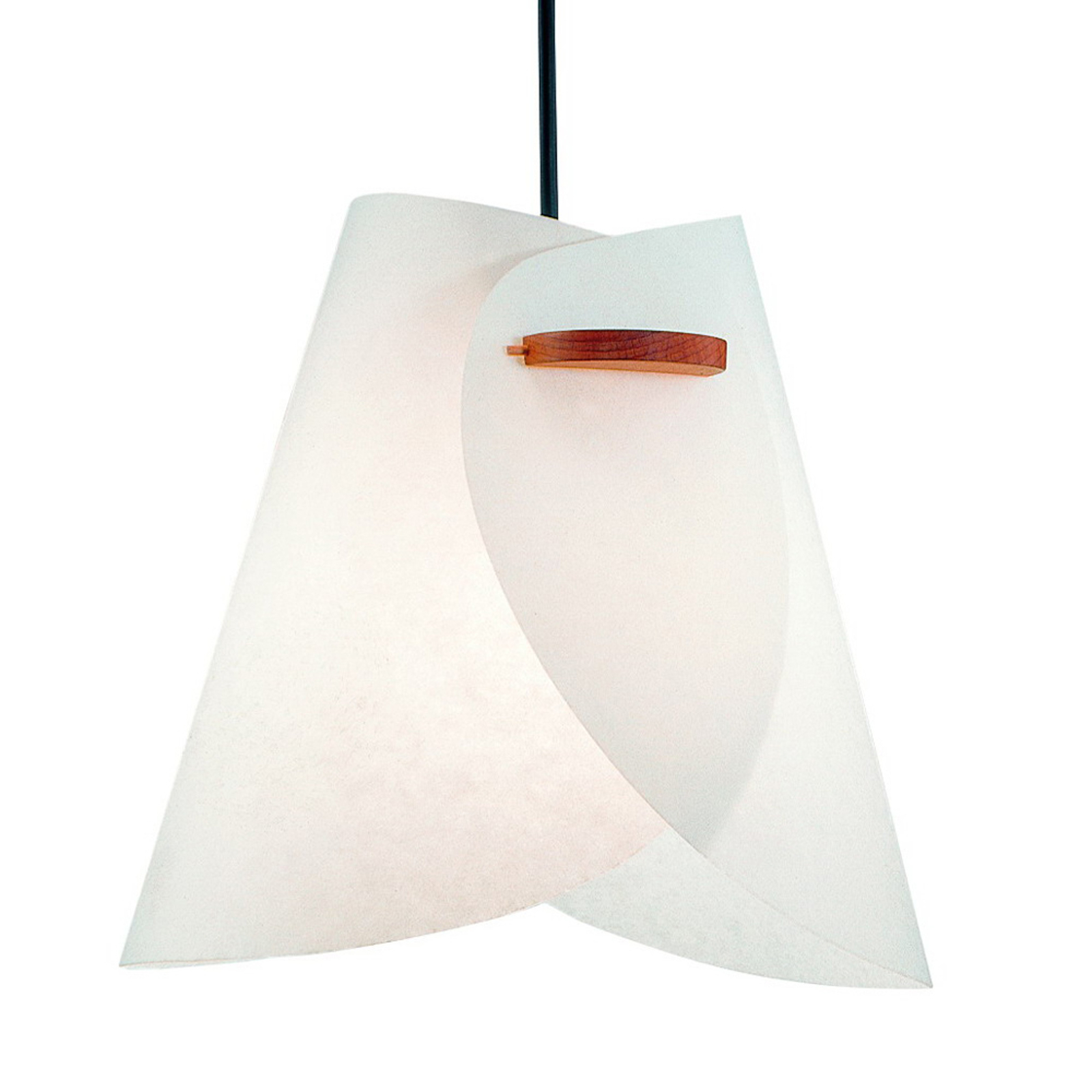 Hvid IRIS design-pendellampe