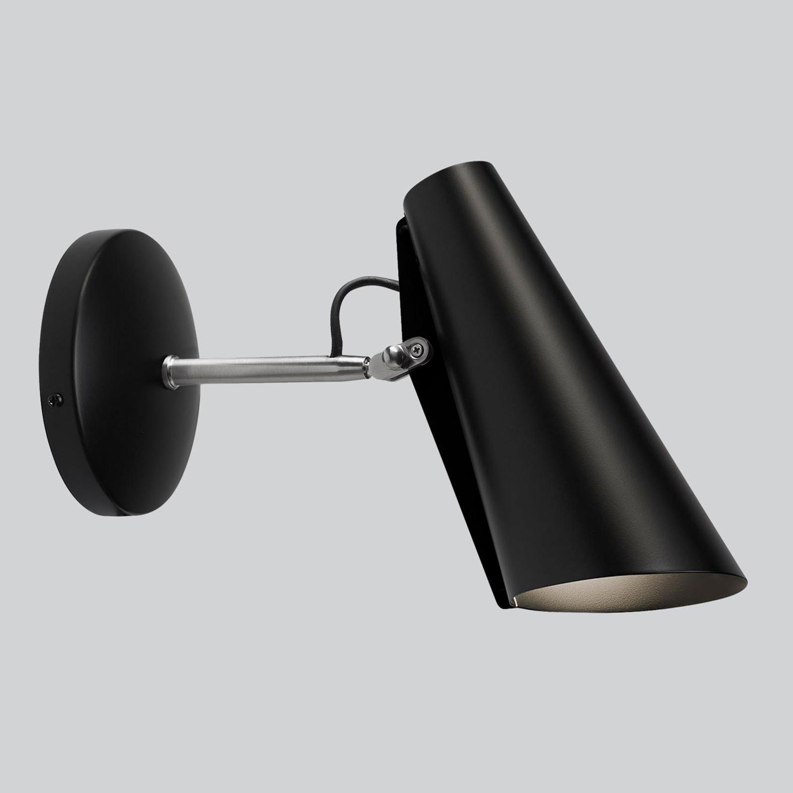 Northern Birdy - wandlamp 31,5cm zwart/staal