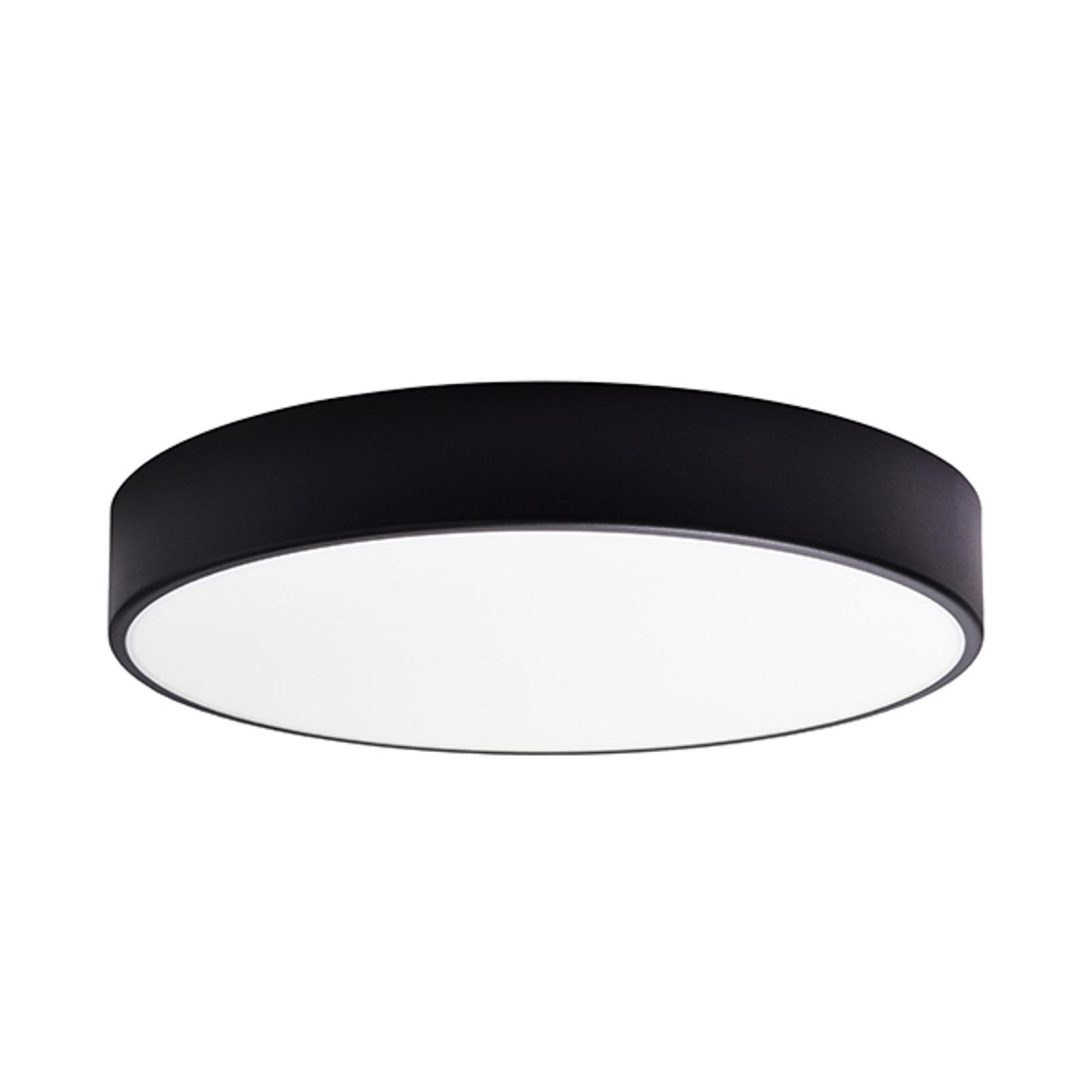 Taklampe Cleo, Ø 50 cm, svart