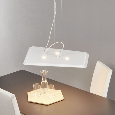 Suspension LED Fuorisquadra moderne, blanc