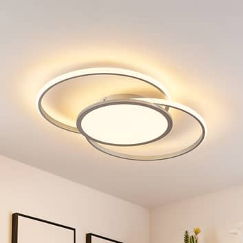 Lucande Senne LED-Deckenlampe, CCT-Farbwechsel