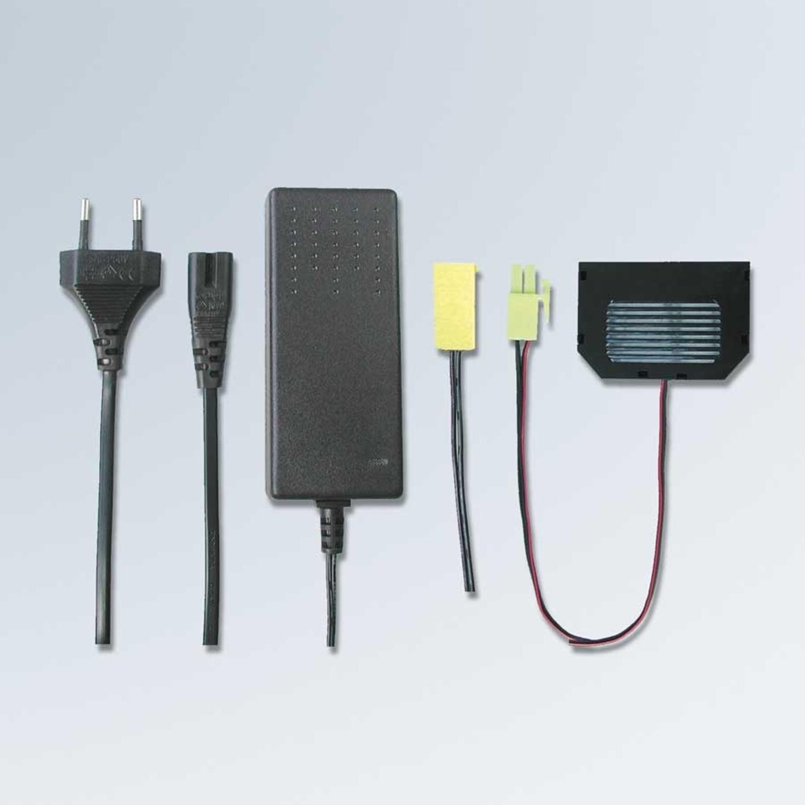 LED-valovirtalähde (sis. europistoke, 30 VA)
