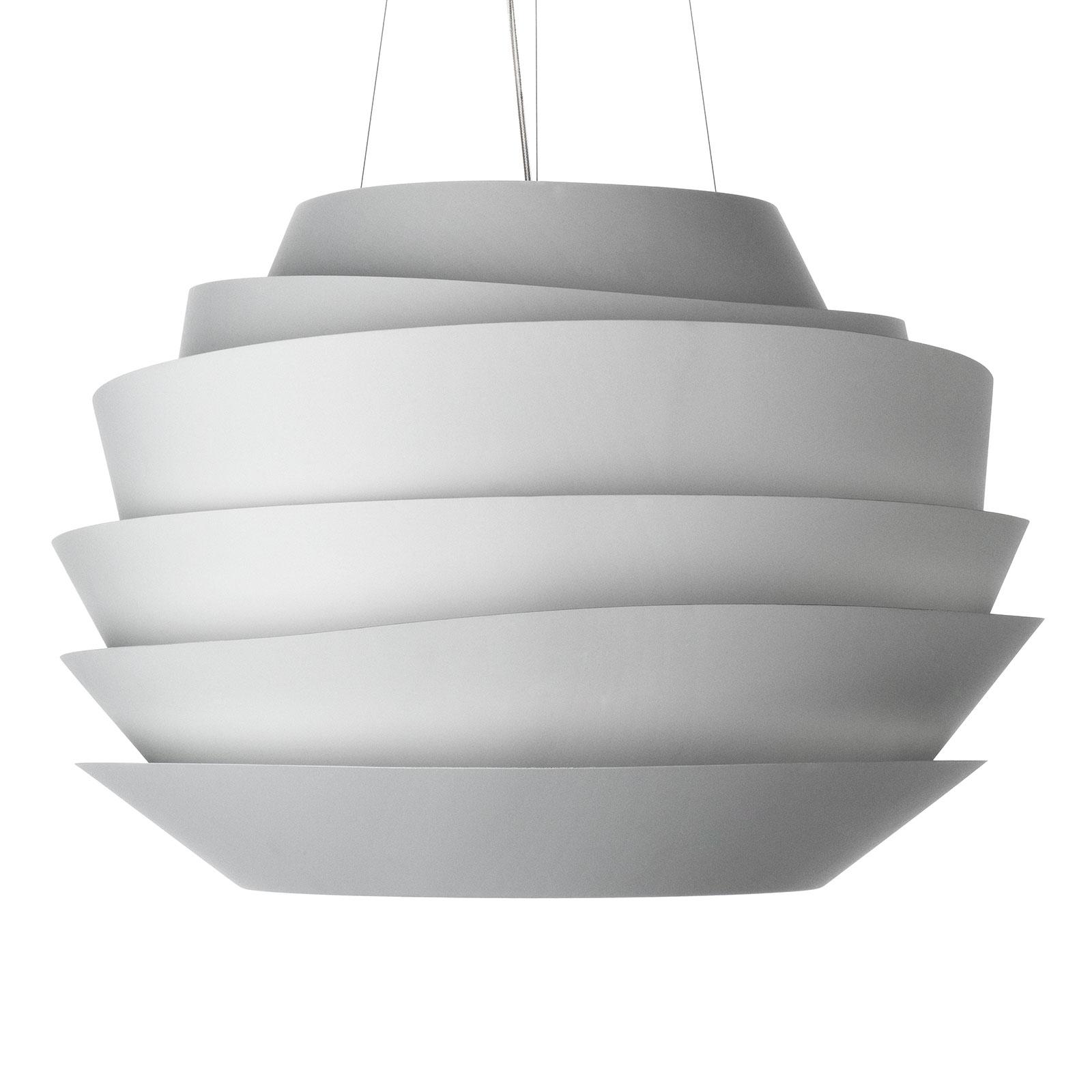 Foscarini Le Soleil LED-pendellampe hvid, dæmpbar