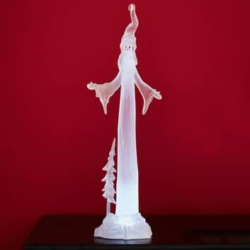 Dekorationslampa Frosty av akryl