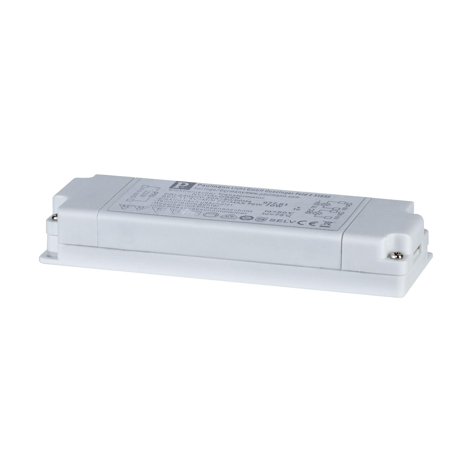 VDE Flat transfo électro. 20-70W 230/12V 70VA