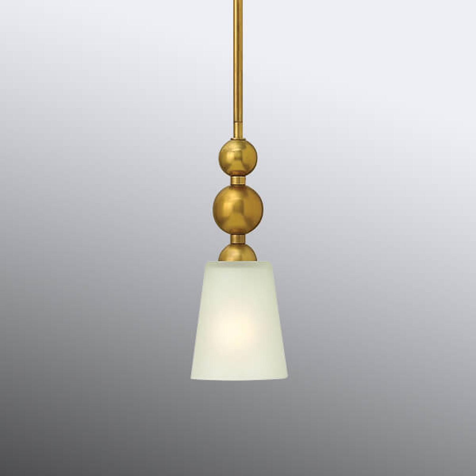 Hanglamp Zelda oudmessing Ø 12cm