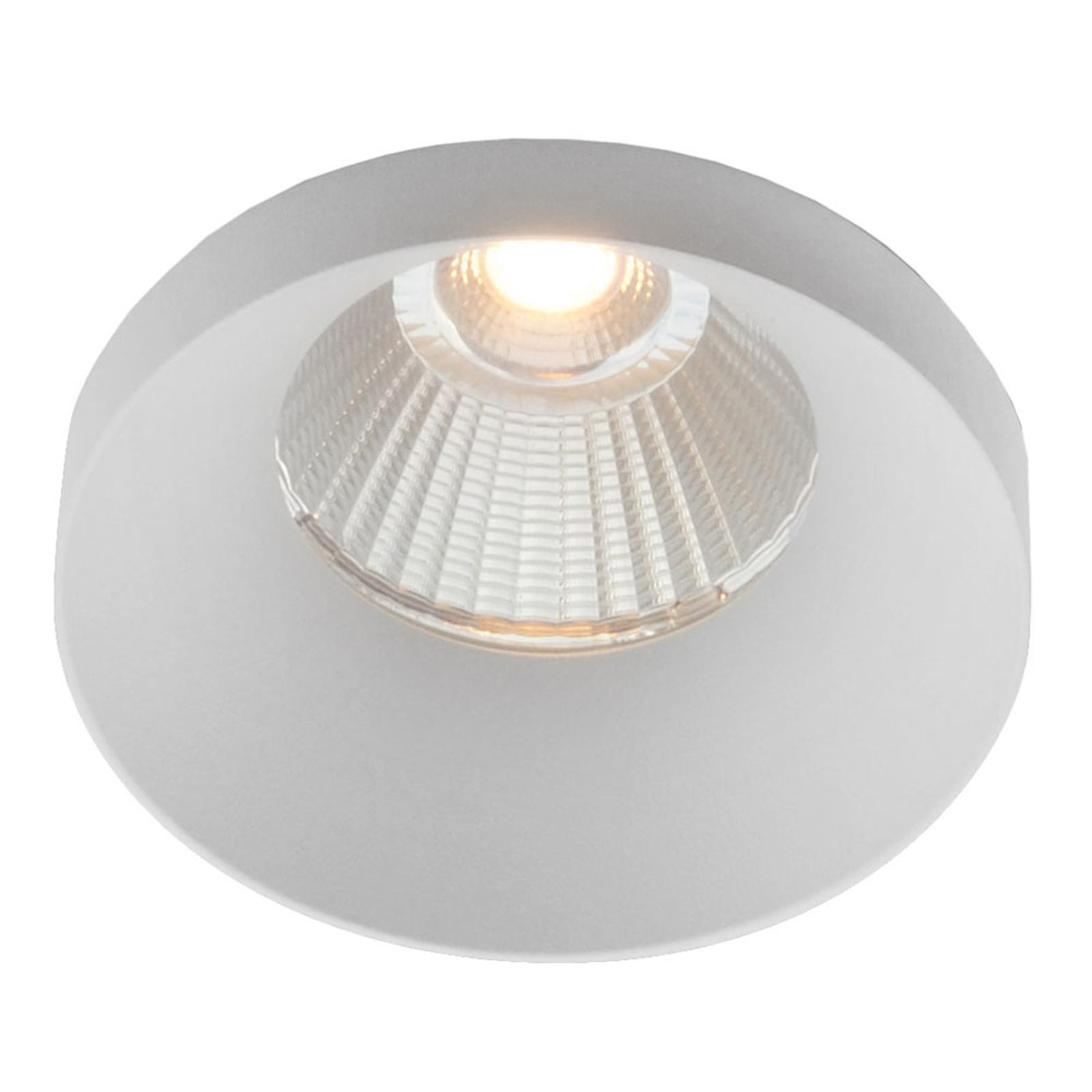 GF design Owi Einbaulampe IP54 weiß 2.700 K