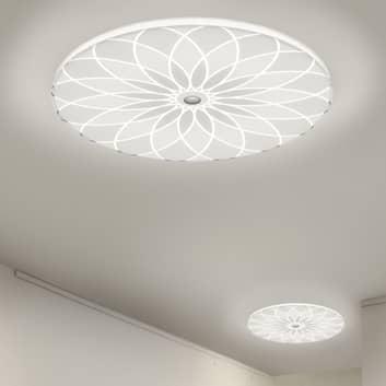 BANKAMP Mandala lampa sufitowa LED kwiat