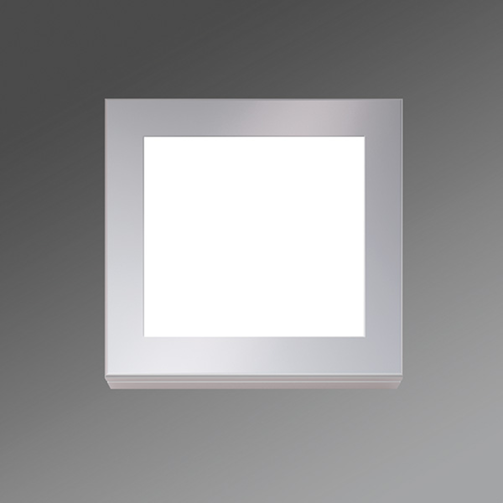 Applique LED Lampe Visula-VSWIG rectangulaire 12W