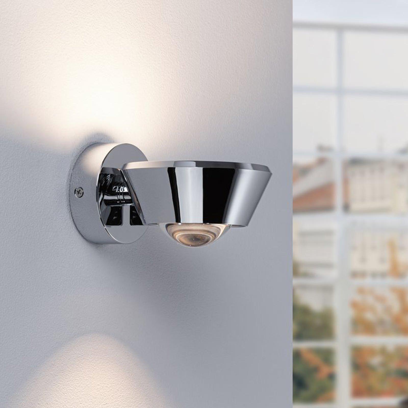 Paulmann Sabik LED-vägglampa krom