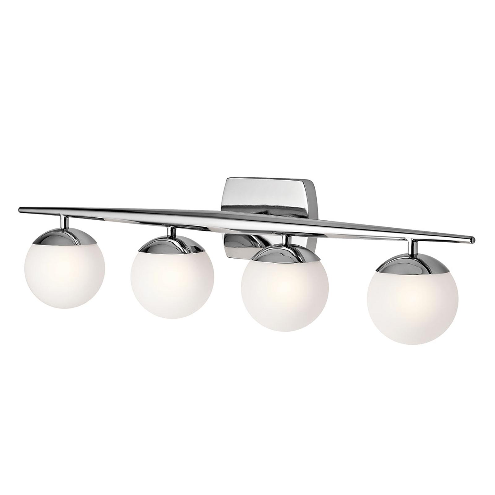 LED badkamer wandlamp Jasper, 4-lamps