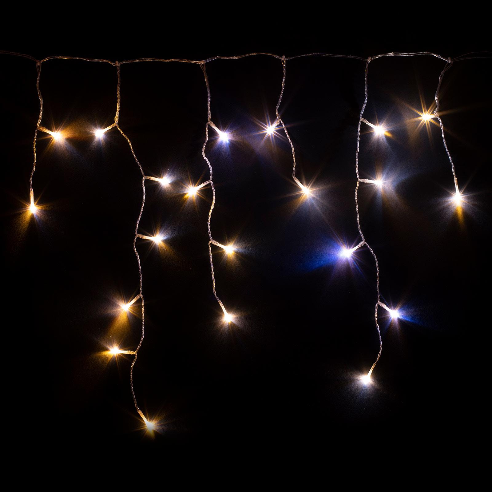 Smarter LED-Lichtervorhang Twinkly für App, CCT