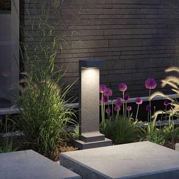 Paulmann Concrea bolardo luminoso LED, alto 61 cm