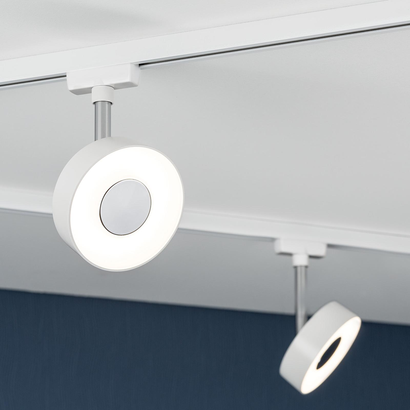 Paulmann URail Circle LED-Spot rund in Weiß