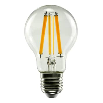 SEGULA LED-lampa E27 10 W 827 filament klar