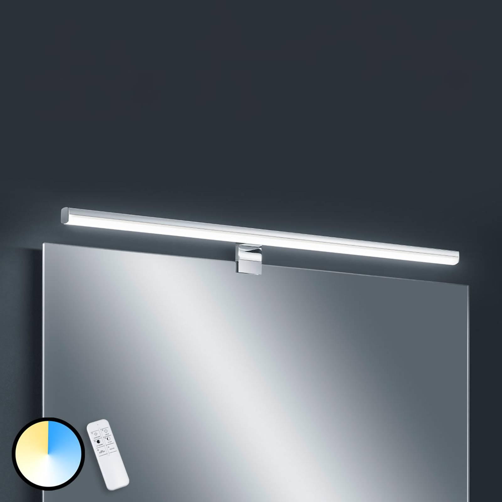 Applique LED Gaia, 79cm, télécommande