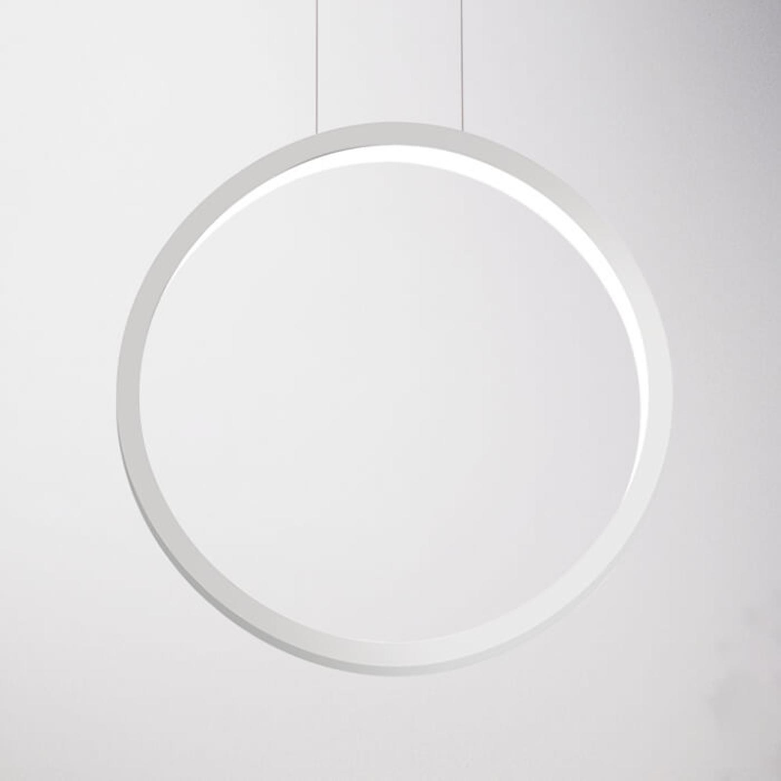 Designerska lampa wisząca LED Assolo, 43 cm