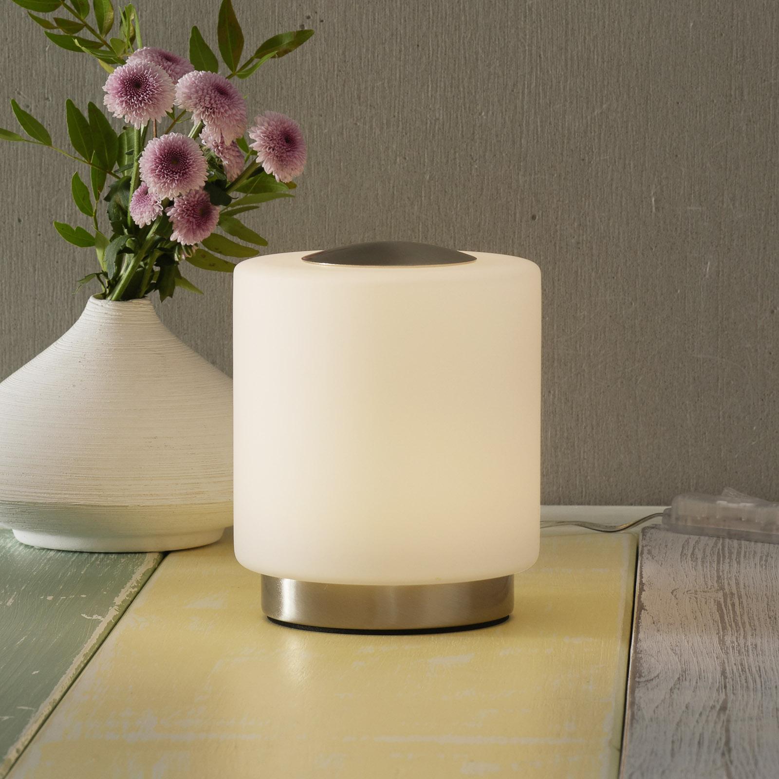 bordslampa led med touchfunktion