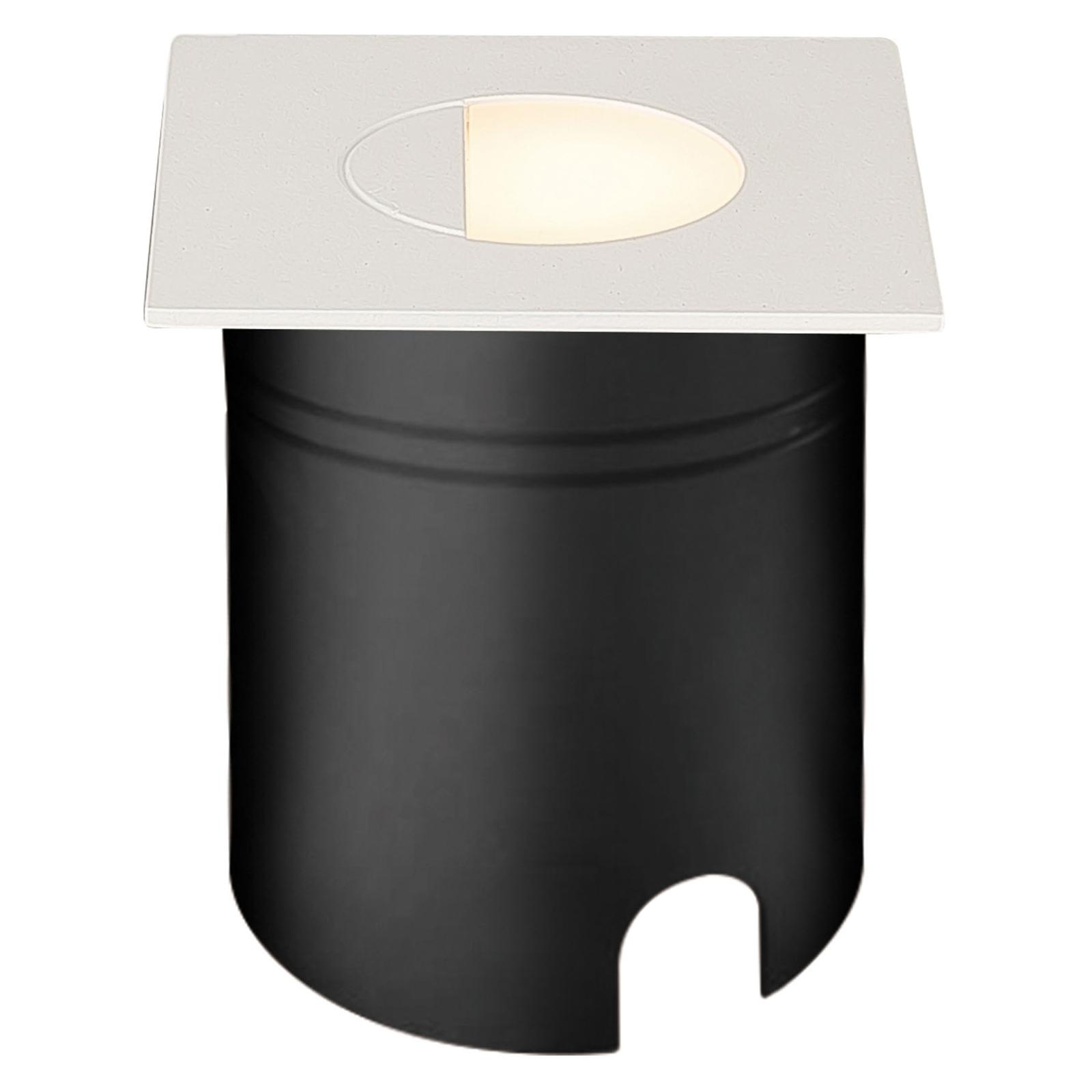 Faretto LED incasso Aspen, diffus. angolare bianco
