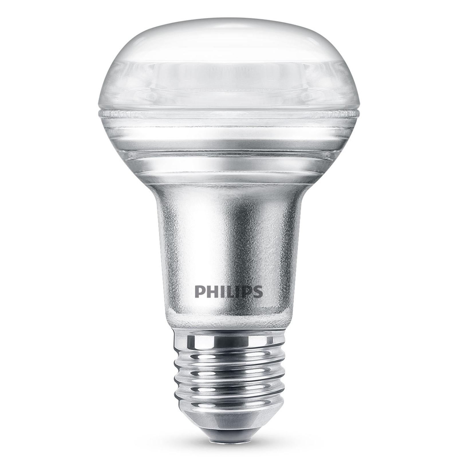 Philips E27 4,5W 827 36° LED R63 reflektor stmív.