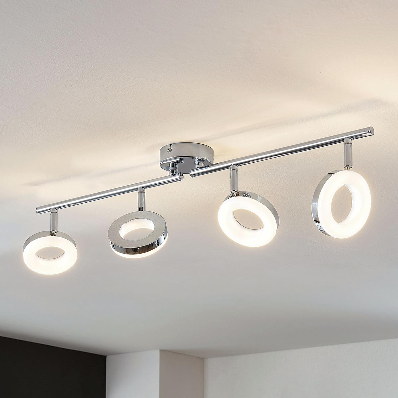 Lampa sufitowa LED Ringo 4-punktowa