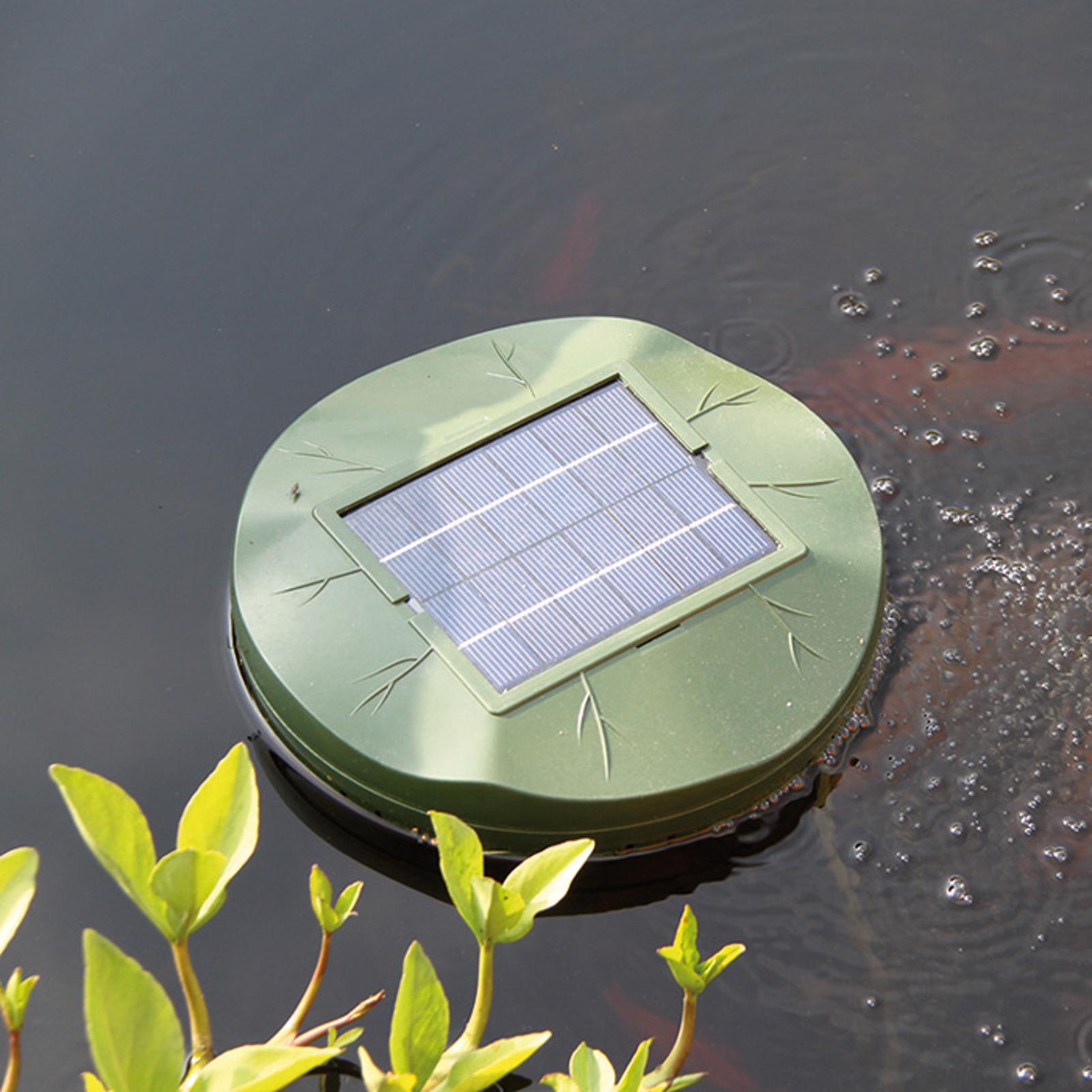 Aeratore idrico Floating Air a energia solare