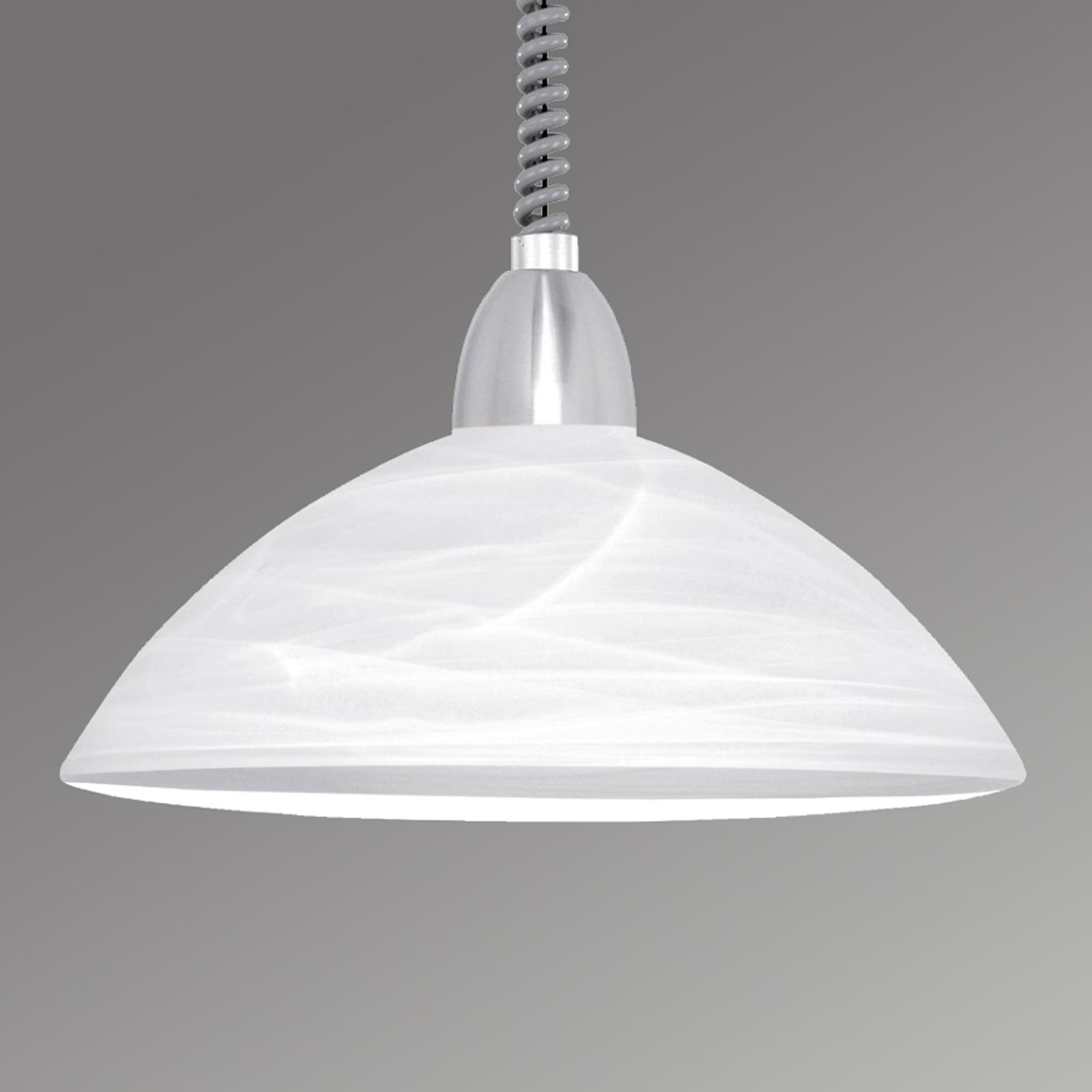 Hanglamp Lara 2 nikkel
