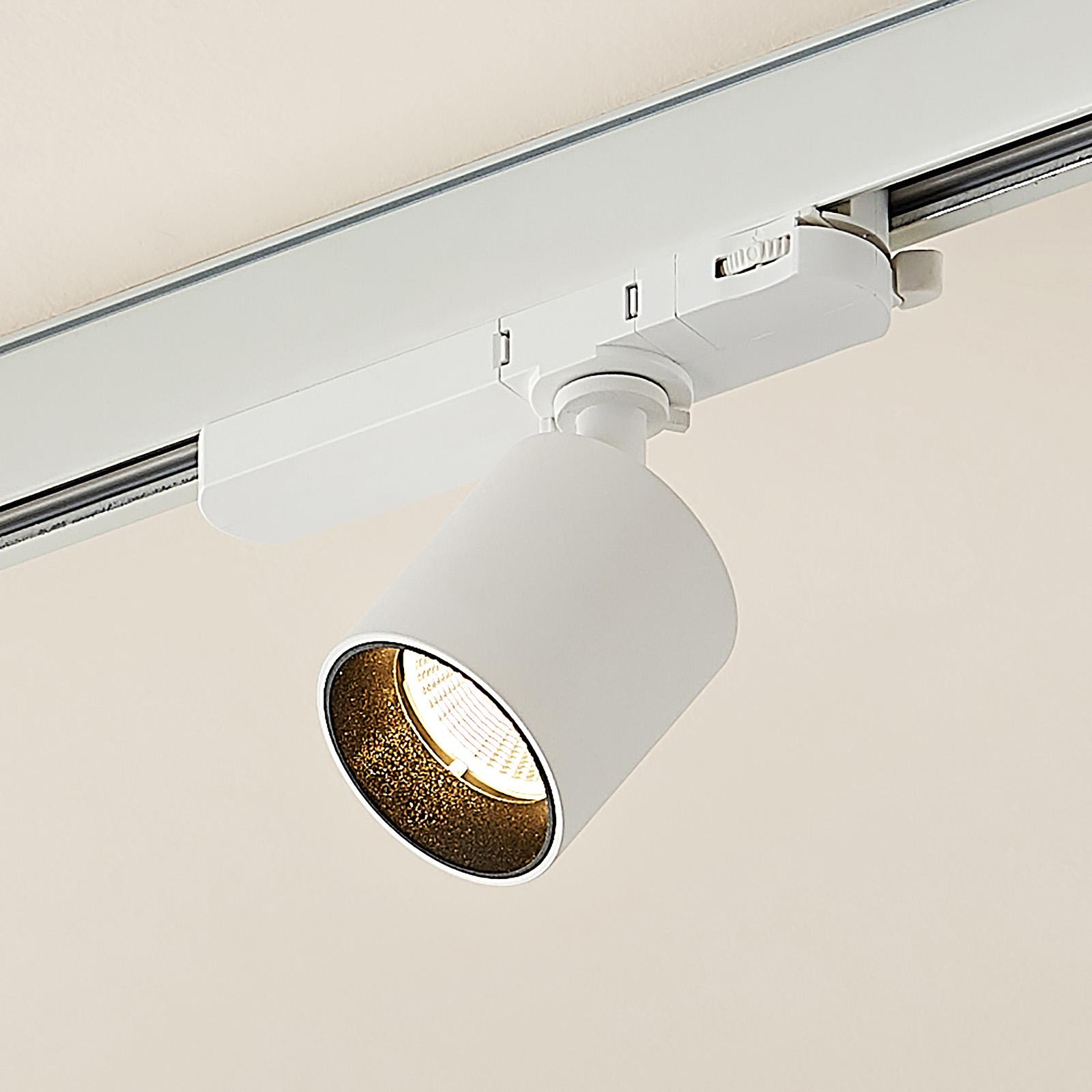 Arcchio Candra LED-Schienenspot, weiß 9W 3.000K