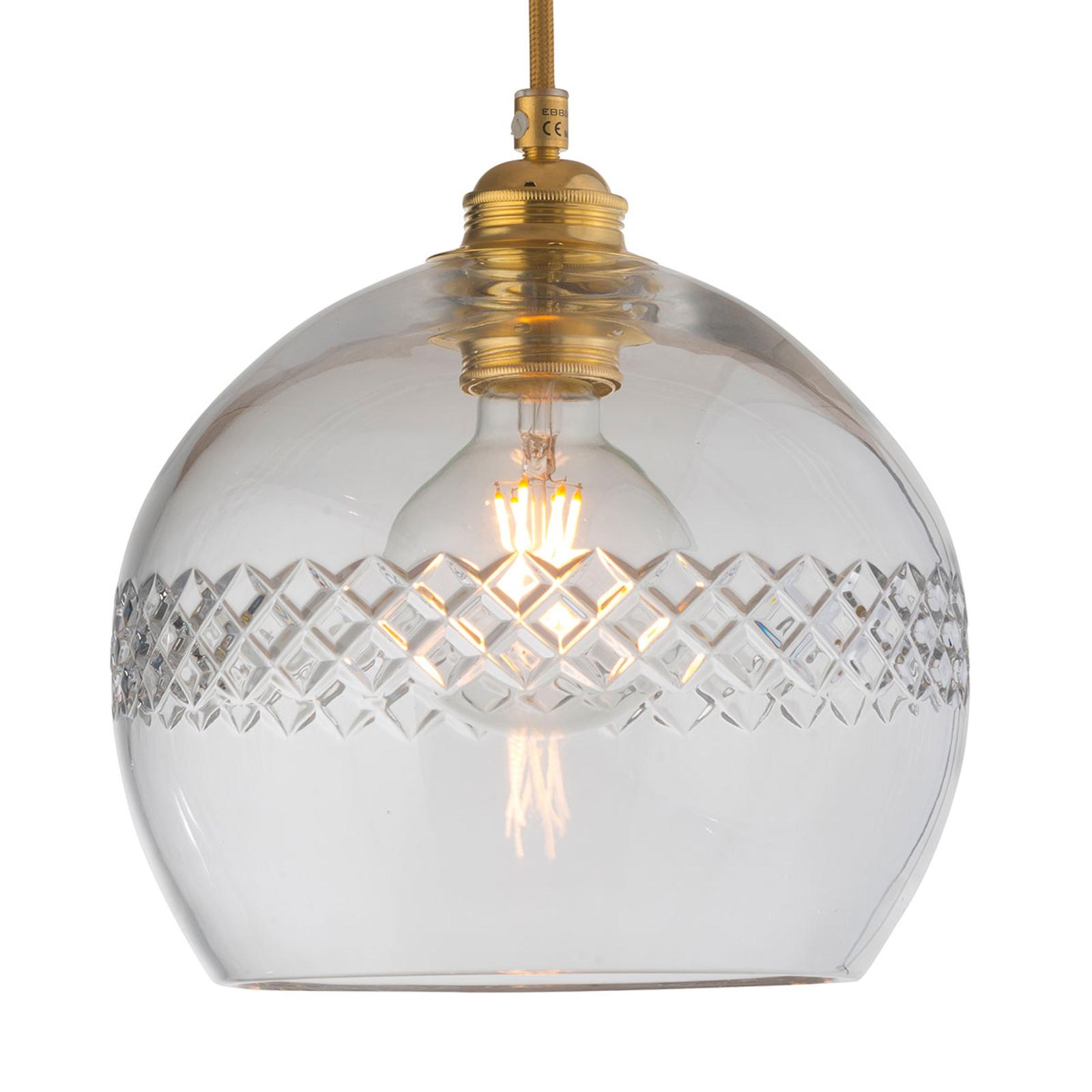 EBB & FLOW Rowan lampa wisząca, karo Ø 22cm