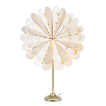 Koristetähti Marigold pöytälamppuna