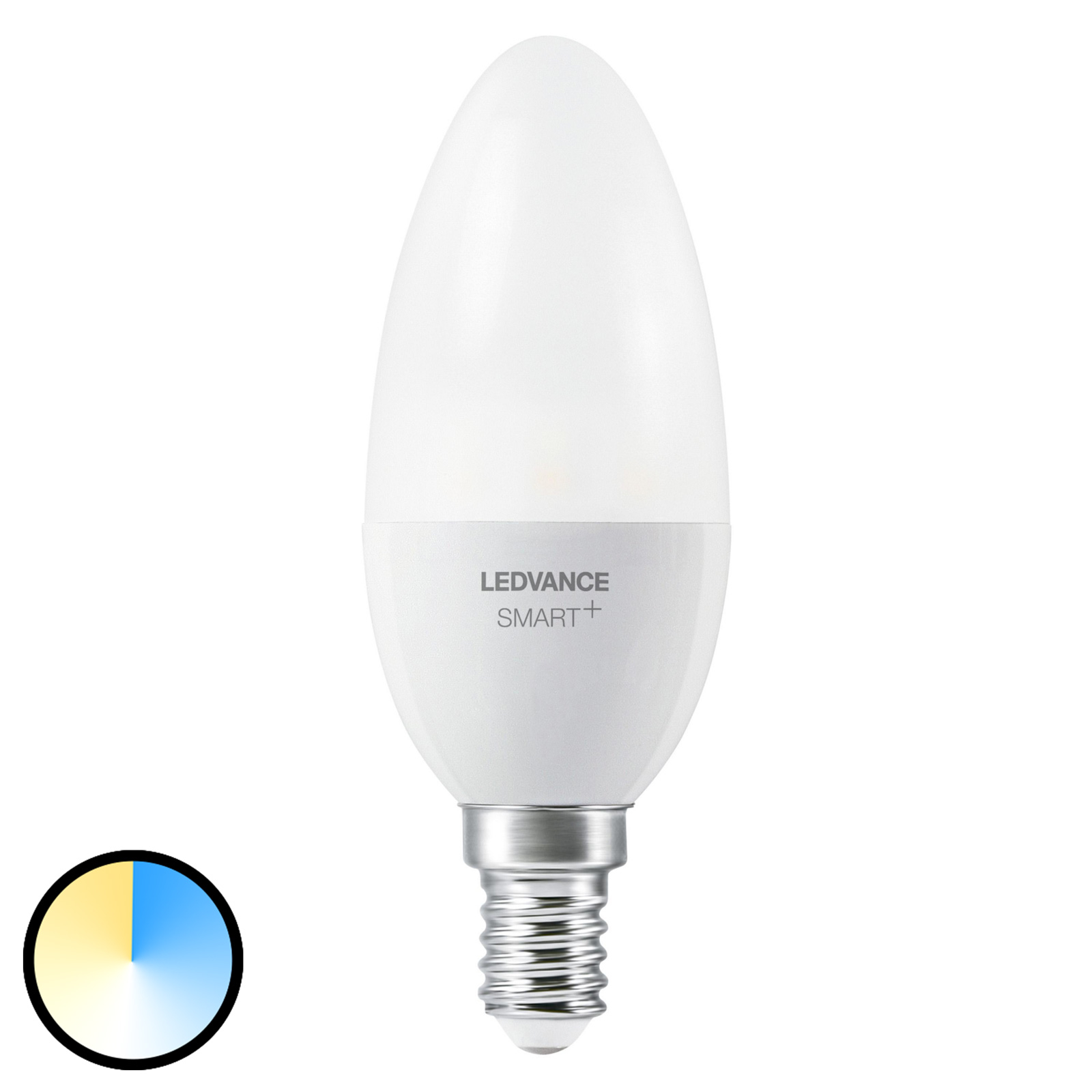 LEDVANCE SMART+ ZigBee E14 ljus 6W 2.700–6.500K
